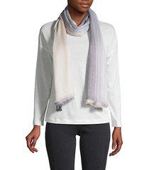 ombré striped scarf