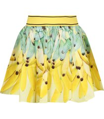 molo yellow girl skirt with banans