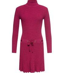 abito in maglia plissettato (fucsia) - bodyflirt boutique