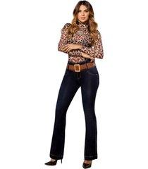 jeans colombiano control abdomen 1361 azul bartolomeo