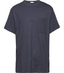 m. brad t-shirt t-shirts short-sleeved blauw filippa k