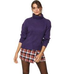 sweater violeta exotica marlon