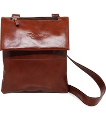 bolsa relicário carteiro de couro nina pinhão