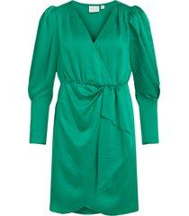 klänning vifloating v-neck l/s dress