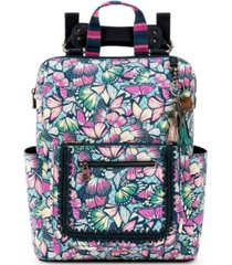 sakroots loyola convertible printed backpack