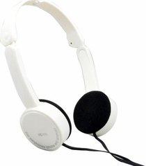 fe-111 plegables audífonos para juegos con cable-blanco