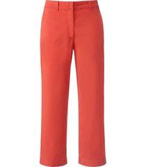 enkellange 'wide fit'-broek wijde pijpen van day.like rood