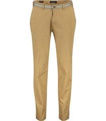gardeur slim fit pantalon sonny-9 bruin banen