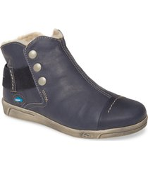 cloud aline bootie, size 9.5-10us in blue leather at nordstrom