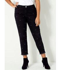 jeans angel of style zwart