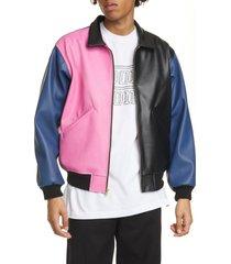 men's noon goons tri me colorblock jacket