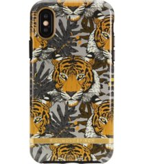 richmond & finch tropical tiger case for iphone x and xs