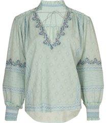 tallie bohemian cotton top