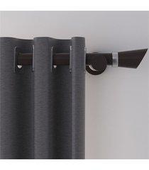 cortina vitalle prateada 230x280cm