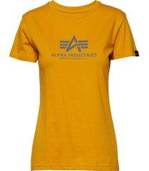 new basic t wmn t-shirts & tops short-sleeved gul alpha industries