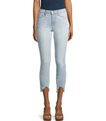 7 for all mankind women's the ankle skinny jeans - light winona - size 29 (6-8)