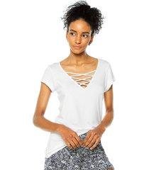 camiseta  blanco bronzini éxito