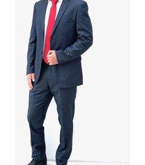 traje azul oscuro oscar de la renta b8sut23-nv