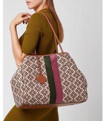 kate spade new york women's everything spade flower jacquard tote bag - pink multi