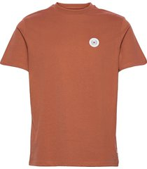 our jarvis patch tee t-shirts short-sleeved orange woodbird