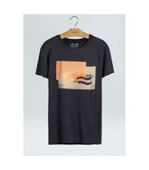 t-shirt vintage swell-azul escuro - p