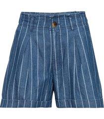 shorts di jeans a righe (blu) - rainbow