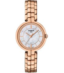 women's tissot flamingo bracelet watch, 26mm