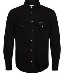 modern western shirt overhemd casual zwart calvin klein jeans