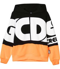 gcds mini two-tone teen sweatshirt