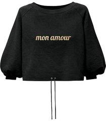 bluza mon amour black