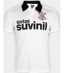 camisa polo corinthians 1995 n° 9 masculina