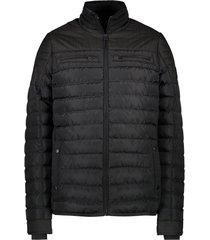 cars jeans winterjas zwart regular fit 46834/19