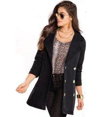 chaqueta para mujer negro mp