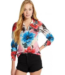 camisa sublimation ggt multicolor guess