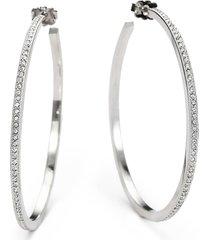 """adriana orsini women's pavé hoop earrings/2"""""""
