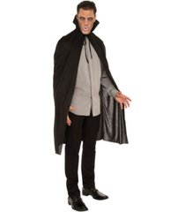 buyseasons men's black vampire cape adult costume
