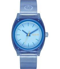 reloj medium time teller azul nixon