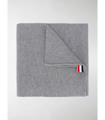 thom browne milano stitch merino scarf