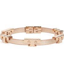 women's tory burch serif t stackable bracelet