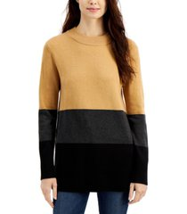 french connection normie colorblocked sweater