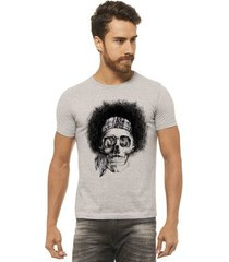 camiseta joss - caveira black power - masculina