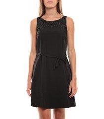 korte jurk vero moda virgo s/l robe 97034 noir
