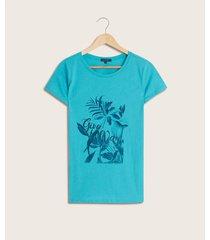 camiseta screen floral