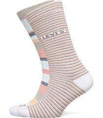 levis regular cut stripe story 2p underwear socks regular socks gul levi´s