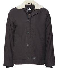 edwin deck jacket fodrad jacka svart edwin