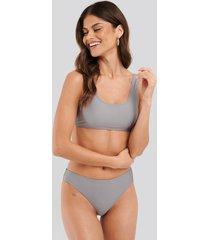 na-kd swimwear sporty bikini briefs - purple