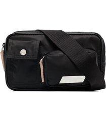 heron preston pochete com bolsos - preto