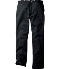 pantaloni termici elasticizzati regular fit straight (nero) - bpc bonprix collection