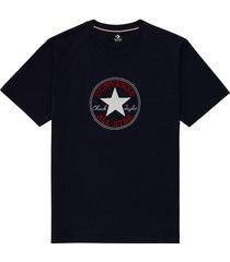 converse camiseta chuck taylor classic black, purple