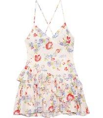 marion dress in cherry skies